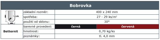 Bobrovka - Maloplosna krytina - ladin.sk